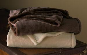 Beige Chocolate Microfiber Throw Blanket Cozy Blush Soft Blanket Throw