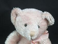 RUSS BERRIE EXCLUSIVE DESIGN FOR TARGET PINK TEDDY BEAR HOLDING HEART PLUSH TOY