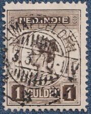DUTCH INDIES 1913/4  1 Gulden   Good  Used    (P24)