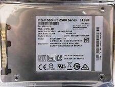 Intel SSDSC2BF512A5 DELL 0NJKXY SSD Pro 2500 Series 512GB 2.5in SATA3 6Gb/s NEW