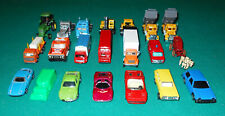 Ho Scale Cars, Trucks & Other Vehicles For Your Train Layout - 21 Pieces!