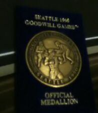 Rare Vintage 1990 Seattle Goodwill Games Challenge Medallion Coin Boxing