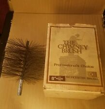 WORCESTER Sweep Round Steel Wire Chimney Brush Never Used in Open Box