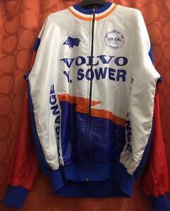 XXL Vintage VOLVO Belgium AUBANGE HALANZY Randonneur Cycling Jacket JERSEY