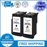 Combo Pack For PG-240XL & CL-241XL Ink Cartridge For Canon Pixma MG MX Series