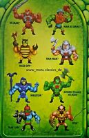 ETERNIA MINIS Minifiguren 2020 MATTEL MOTU Masters of the Universe WAVE 1 NEU