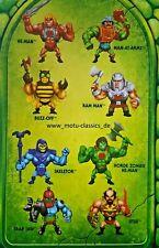 ETERNIA MINIS Minifiguren 2020 MATTEL MOTU Masters of the Universe WAVE 1 NEU