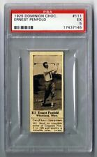 1925 Dominion Choc. Sports Card #111 Ernest Penfold (Golf) Graded PSA 5