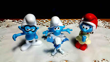 4  Burger King Kids Meal Toy Smurfs The Lost Village NEW IN BAG Brainy Smurfette