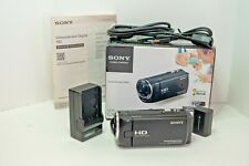 Sony HDR-CX220 Handycam HD Digital Camcorder W/extra battery & charger & SD Card