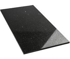 Musterfliese Starlight 30x30 30x60 60x60 Bodenfliesen Quarzstein Poliert schwarz