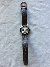 Beverly Hills Polo Club Professional Silver & Blue Case Chronograph Quartz Watch