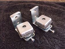 PAIR PUNCH-IN BALL BEARING HINGES-SUITABLE FOR SWINGING GATES DOORS-SUIT 50x50mm