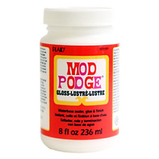 Mod Podge 8 Oz Waterbase Sealer Glue and Finish Gloss 236ml FAST DELIVERY