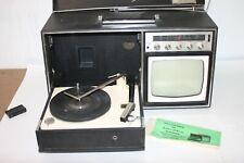 DELMONICO NIVICO all Transistor Tv/Stereo/Am-Fm Radio Combination Model VPF-96