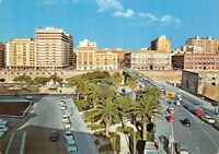 Cartolina Taranto Piazza Castello Distributore Agip 1981