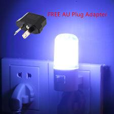 LED Wall Mounting Room Night Lamp Licht Light Plug Lighting Bulb AC 1W AU@