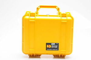 Pelican 1200 Hard Case Yellow #076
