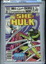 Savage She-Hulk #22 CGC 9.8 White