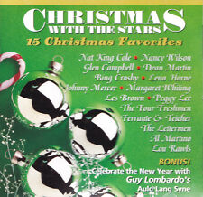 CHRISTMAS WITH THE STARS 15 Christmas FavoritesUS Press Front Row 1997 CD