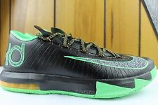 "NIKE KD VI 6 ""BRAZIL"" BLACK SZ: 9.0 KEVIN DURANT NEW RARE AUTHENTIC BASKETBALL"