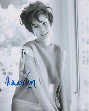 Lana Wood Signed 8x10 Photo - James Bond Babe with Short Hair - SEXY!!! G799