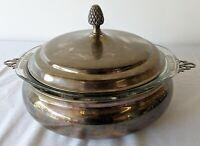 Vintage Reed & Barton Kingston Silverplate Casserole Dish * FREE SHIPPING *