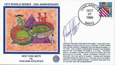 """Rusty Staub Auto. Cachet Commemorating """"25th Annivers. of the 1973 World Series"""""""