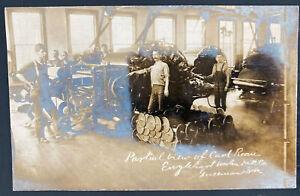 1907 Guseman WV USA RPPC Postcard cover To Bruceton Card Room Englehart Mill Co