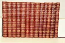 THE WORKS OF ROBERT LOUIS STEVENSON 15 VOLUME BOOK SET - MISSING # 8 and #10