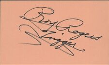 ROY ROGERS In-person Autograph