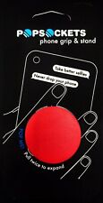 Authentic Popsockets Red Blood Red Phone Holder Grip Stand PopSocket Pop Socket
