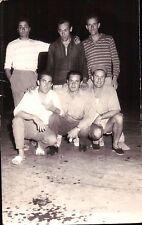 VERA FOTO GRUPPO DI AMICI O COLLEGHI AD ALBENGA ANNI '60  C7-97