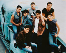 THE OUTSIDERS 8X10 COLOR PHOTO