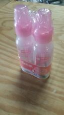 Dr. Brown's Baby Bottles 4 Oz and 8 oz Pink