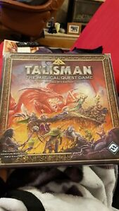 Fantasy Flight Games - Talisman the Magical Quest Game Revised Board Game Opened