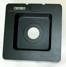 Cambo 4x5 Original Recessed Lens Board For Copal 0 Shutter