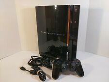 Sony PlayStation PS3 PS2 PS1 Model 1 Backwards Compatible CECHA01 Console TESTED