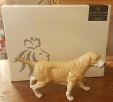 Vint Royal Doulton Animals Golden Labrador Retriever Hand Made Bone China Ra 104
