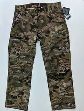 Under Armour Ridge Reaper Forest Camo 1263715 940 Mens 36 x 32 Camo Pants $169