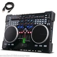 American Audio VMS5 ADJ MIDI 4ch Mixer Controller + Virtual DJ LE + USB Lead