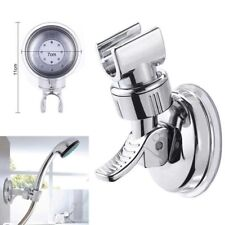 New Suction Shower Head Handset Holder Bathroom Wall Mount Adjustable Bracket UK