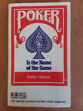Poker Is The Name Of The Game Walter Gibson 1974
