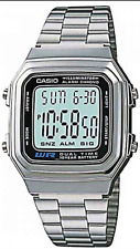 Casio Watch Retro Digital Unisex  A178WA-1A  Illuminator Alarm New A178 A-178-WA