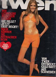 TWEN 1968 kompletter Jahrgang Einzelhefte Nummer 1-12 Kindler & Schiermeyer KULT