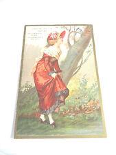 "Victorian ""Hatter Children's Hats A Specialty"" By Geo. Allen Philadelphia, Pa."