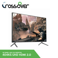 """Crossover 404KS UHD HDMI 2.0 40"""" 4K 16:9 Monitor 60Hz 3840x2160 VA Panel DP Port"""