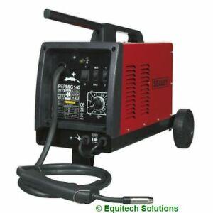Sealey Supermig140 MIG Welder Welding 140A uses CO2 Argon Disposable Gas