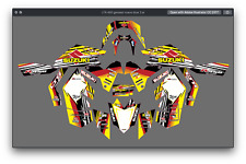 Suzuki LTR 450 ATV stickers decals graphics kit 2006-2019 graphic kit stickers