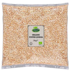 Organic Puffed Quinoa 5kg Certified Organic